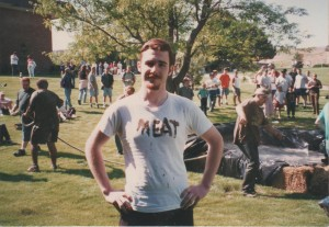 College days where I learned about business, wasted lots of time, made some great friends, and wrestled in the mud pit.