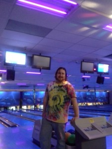 Going bowling on a night of freedom