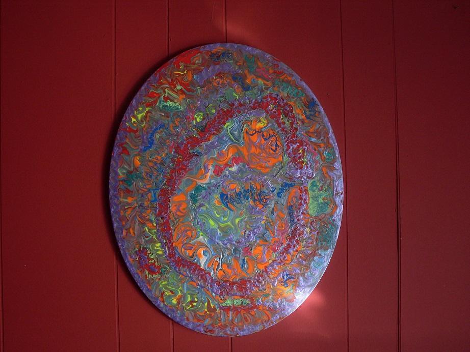Painting Bereaved