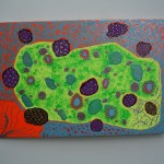 """Probiotic cure for depression a painting by Rosco """"Carrico"""" Crooke"""