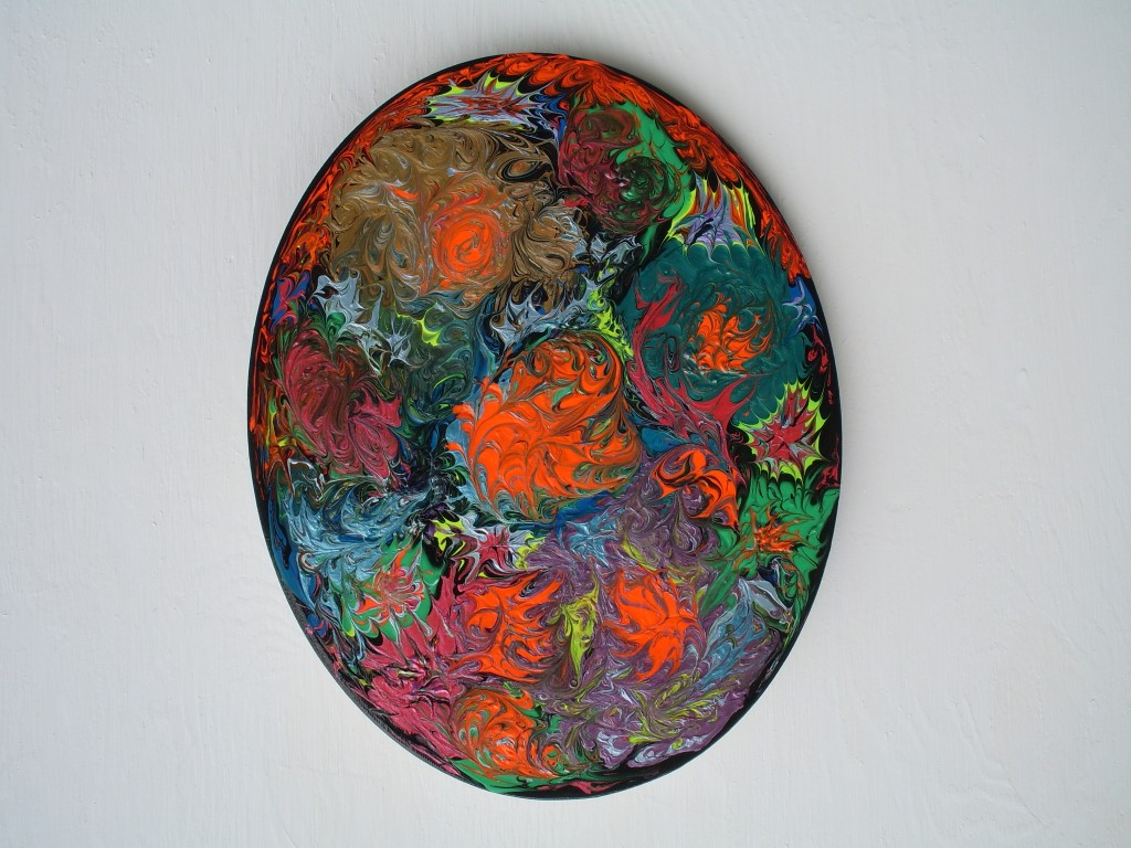 """Storm of Chaos and Creativity a painting by Rosco """"Carrico"""" Crooke"""