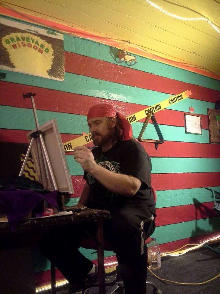 rosco carrico crooke creating a new abstract painting