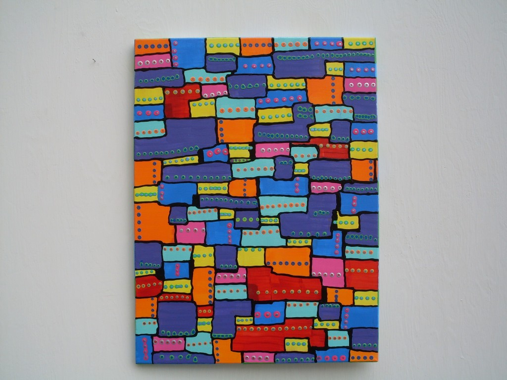 Puzzled Look painting by Rosco Carrico Crooke