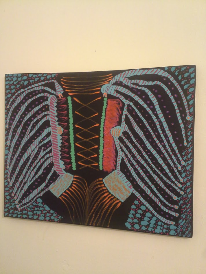 Picture of original painting Techno Indian