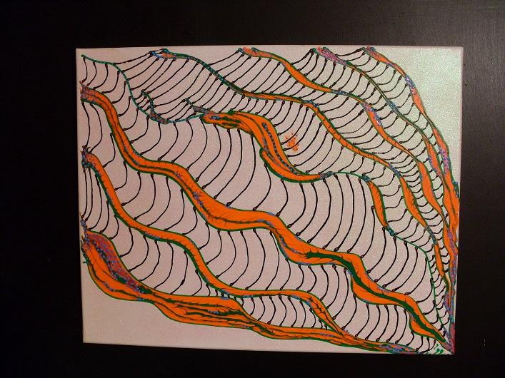 Painting Techno Web