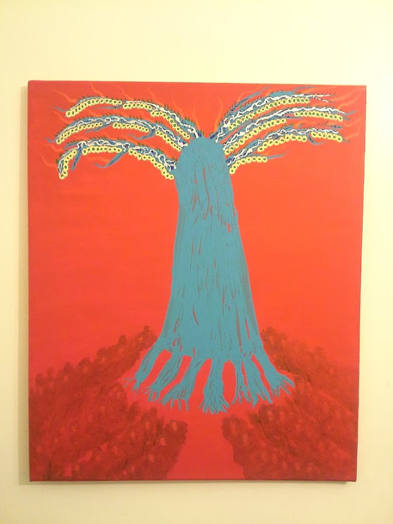 original painting tree of knowledge of good and evil at first sin