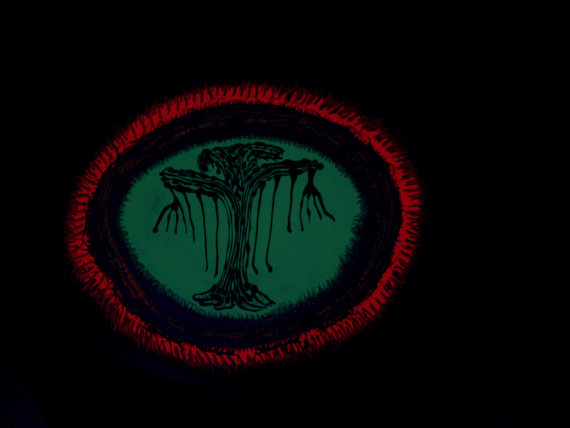 tree-of-doubt-painting-black-light-Rosco-Carrico-Crooke
